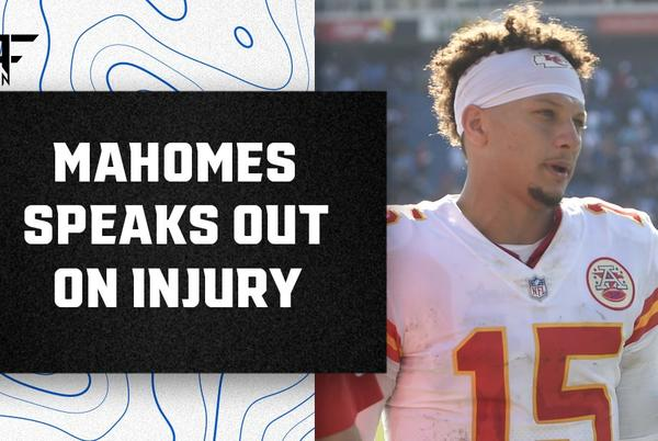 Picture for Patrick Mahomes discusses scary head injury that knocked him out of Chiefs-Titans game
