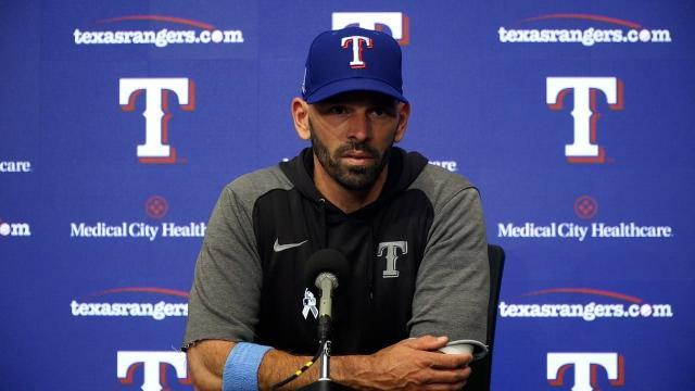 Picture for Texas Rangers | Chris Woodward on Dunning, Gallo