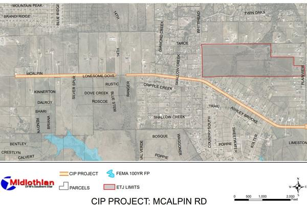 Picture for Midlothian: Surveying Underway For Improvements to McAlpin Road