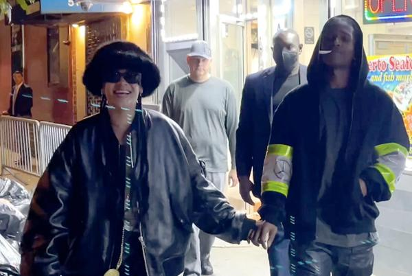 Picture for A$AP Rocky and Rihanna hit NYC seafood joint at 3 a.m.