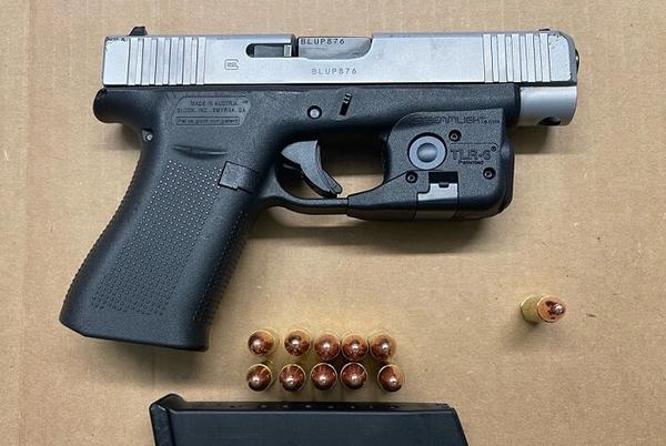 Picture for Suspect in Custody After BPD Officers Recover Loaded Firearm, Drugs and Cash During Traffic Stop in Roxbury