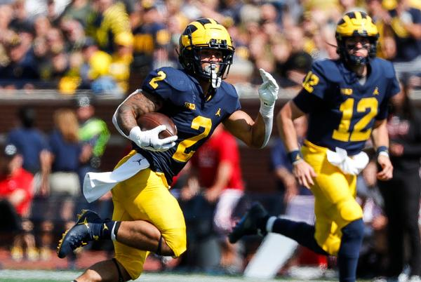 Picture for Michigan football runs rampant over Northern Illinois, 63-10