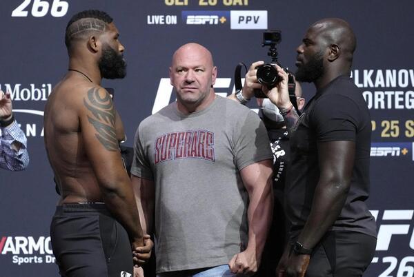 Picture for UFC 266 live blog: Curtis Blaydes vs. Jarizinho Rozenstruik