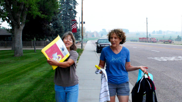 Cover for StoryWalk grant helps towns in Goshen County