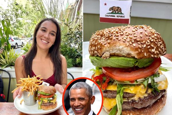 Picture for I tried Obama's favorite NYC burger and can see why it gets the presidential stamp of approval