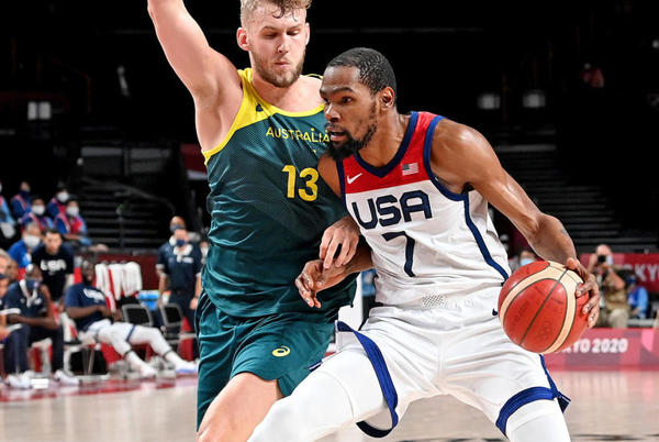 Picture for Team USA basketball vs. Australia score, Tokyo Olympics: Americans advance to face France in gold medal game