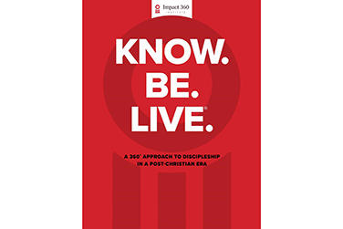 Picture for Administrators address cultural challenges and making disciples in book, 'Know. Be. Live.®'