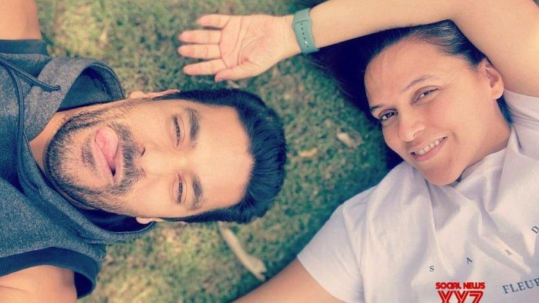 Picture for Neha Dhupia, Angad Bedi isolated in different towns on 3rd anniversary