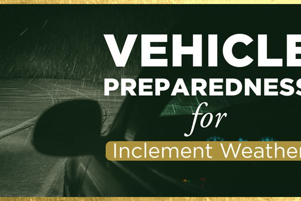 Picture for Vehicle Preparedness for Inclement Weather