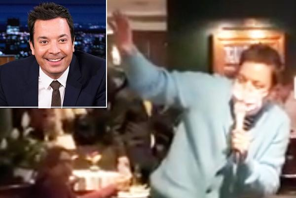 Picture for Jimmy Fallon Leads Restaurant Patrons in Impromptu 'Sweet Caroline' Performance — Watch the Clip!
