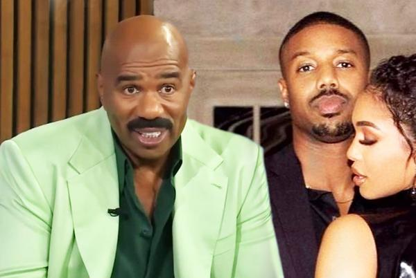 Picture for Steve Harvey on What Threw Him Off When Meeting Michael B. Jordan for the First Time (Exclusive)