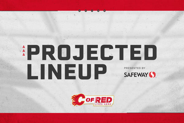 Picture for PROJECTED LINEUP - FLAMES @ CANUCKS