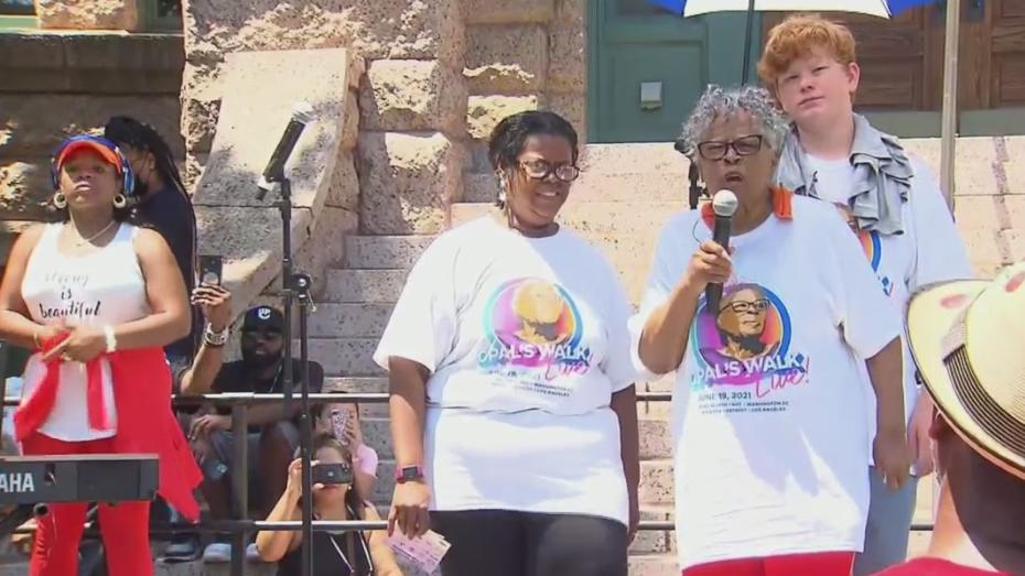 Picture for Opal Lee's Annual Walk Was Extra Special Saturday After Juneteenth Becomes Federal Holiday