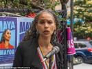 Picture for Radical leftwing NYC mayoral candidate Maya Wiley who warned about a 'New York City built by and for billionaires' received $500,000 from hedge-fund billionaire George Soros