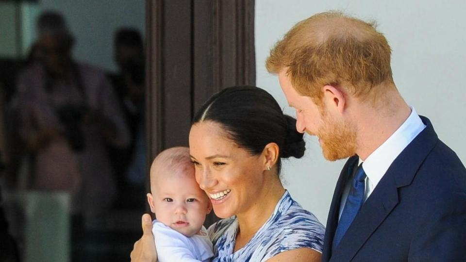Picture for Prince Harry & Meghan Markle Rejected Earl Of Dumbarton Title For Archie Over Fear Of 'Dumb' Jokes: Report