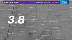 Cover for Earthquake in Western Indiana this Afternoon