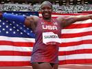 """Picture for Raven """"Hulk"""" Saunders Wins Silver Medal In Women's Shot Put"""