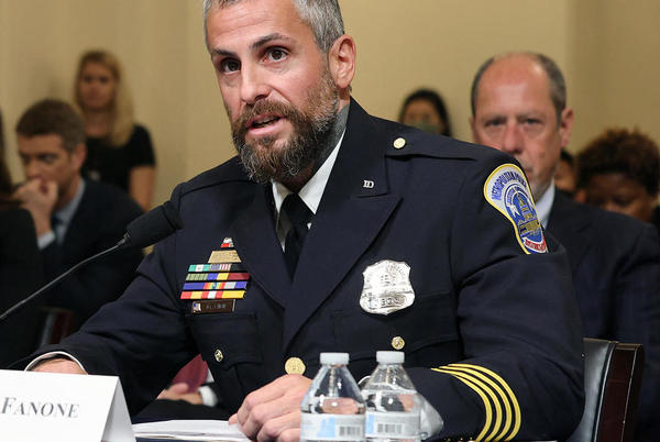 Picture for D.C. police officer Michael Fanone gets vulgar, threatening voicemail during January 6 testimony