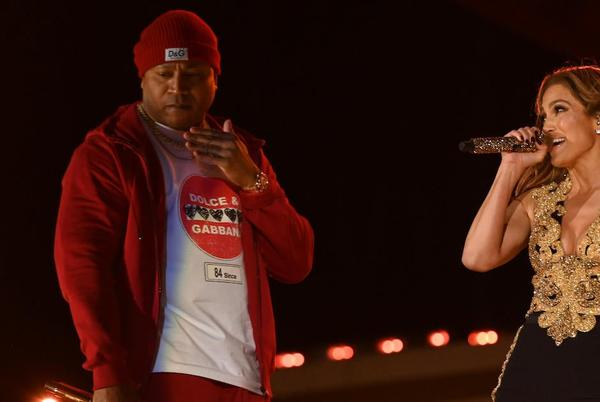 Picture for Jennifer Lopez Teamed With 'NCIS: LA' Star LL Cool J for Throwback 'All I Have' Global Citizen Performance