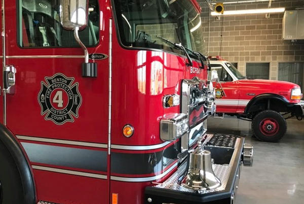 Picture for Local fire district says volunteers are required to get COVID vaccine