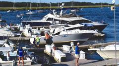 """Cover for Two injured after Tewksbury woman crashes """"Unbreakable"""" on Newburyport dock"""