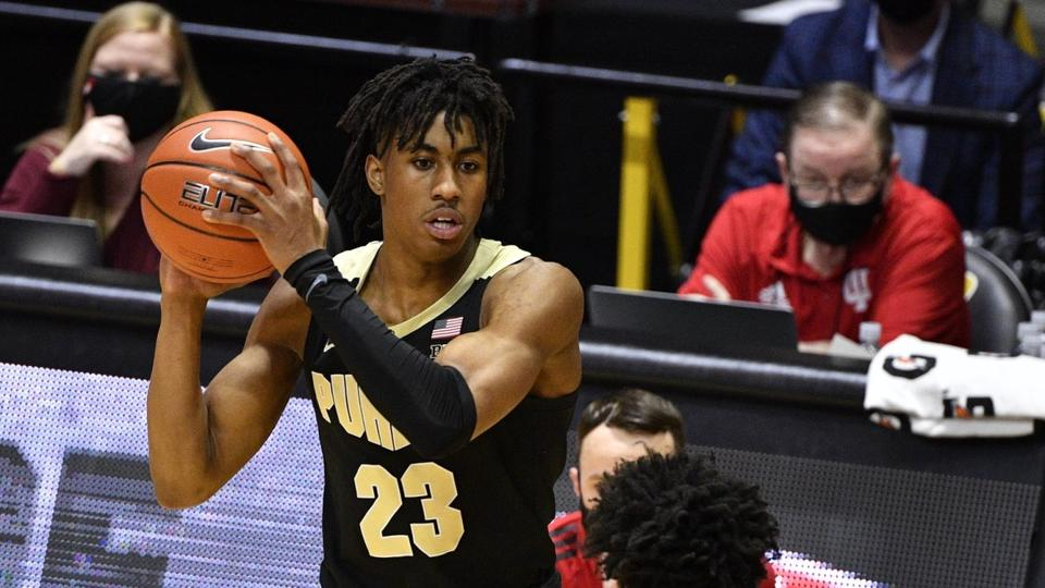 Picture for Purdue's Jaden Ivey, Caleb Furst Selected as Finalists for USA Basketball U-19 Team