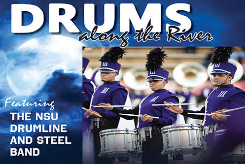 Picture for NSU Drumline and Steel Band to perform Friday