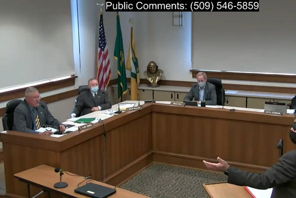 Picture for Franklin commissioner compares himself to Rosa Parks in protesting WA mask mandate