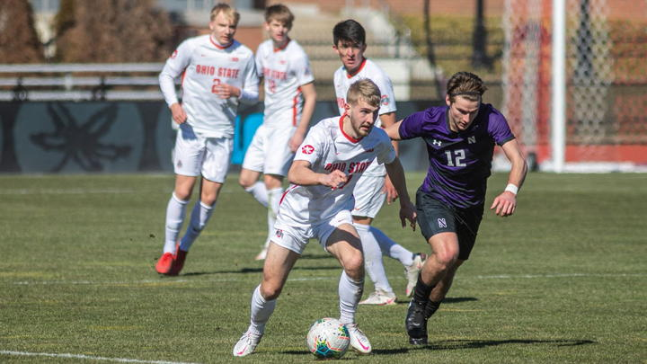 Cover for Men's Soccer: Ohio State looks to upset No. 5 West Virginia