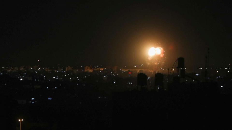 Picture for Israel bombs Gaza City in 2nd day of strikes since breaking cease-fire