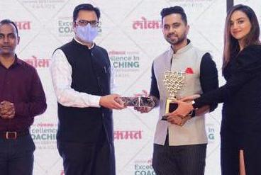 Picture for Dancer Tejas Dhoke gets awarded at Lokmat Excellence in Coaching Award