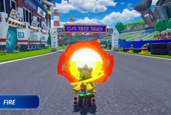Picture for Chocobo GP is an exclusive Switch kart racer with magic spells