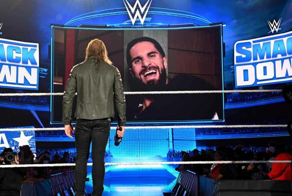 Picture for The Edge vs Seth Rollins rivalry turns personal