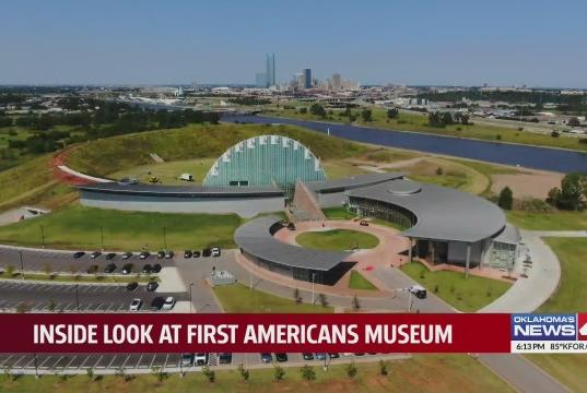 Picture for First Americans Museum preparing to open to the public