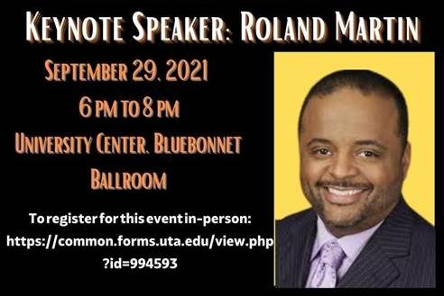 Picture for Roland Martin to serve as 'Opening Lecture' keynote