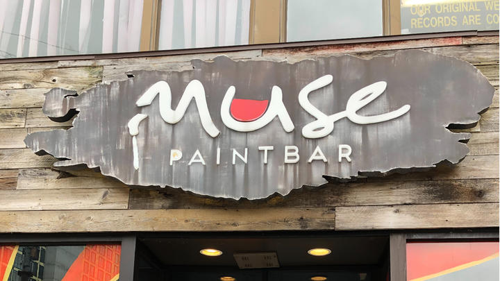 Cover for Date Night: Muse Paintbar. 84 Mamaroneck Ave, White Plains, NY 10601