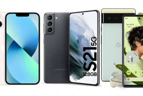 Picture for Pixel 6 vs iPhone 13 vs Galaxy S21: Full specifications comparison