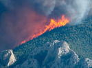Picture for Wildfire advances toward Bearcreek; multiple blazes active in the region