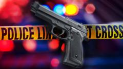 Cover for Gun battle sends one man to the hospital with multiple gunshot wounds
