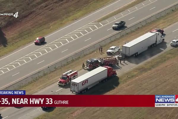 Picture for OHP identifies man killed in I-35 crash