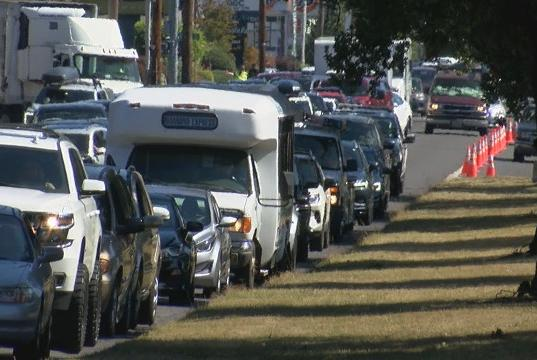 Picture for 'I've never seen traffic like this': Drivers, students react to Franklin Boulevard traffic jam