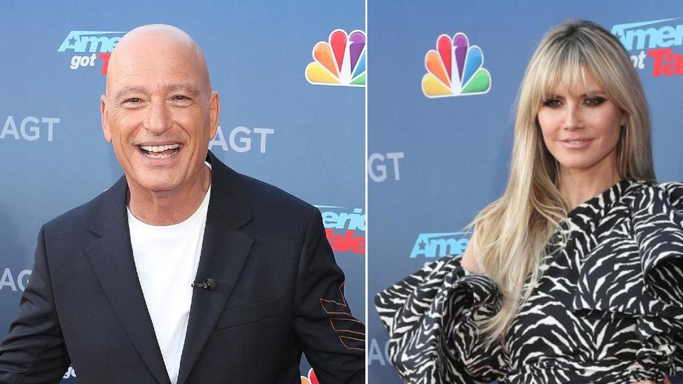 Picture for Strutting His Stuff! Heidi Klum Teaches Howie Mandel How To Work The Runway In Heels — See The Hilarious Video