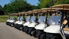 Cover for Federal charges: Minnesota man stole 63 golf carts in 7 states