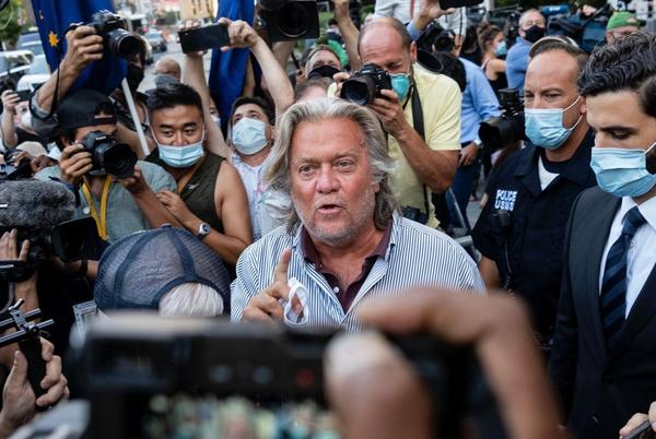 Picture for House Select Committee on January 6 seeks criminal contempt charges against Steve Bannon
