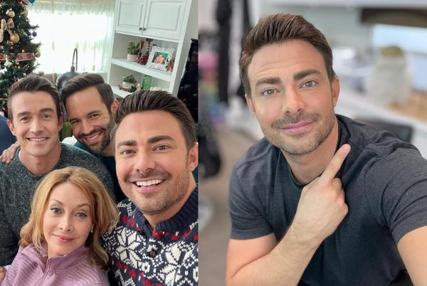 Picture for Mean Girls star Jonathan Bennett is making a sequel to his gay Hallmark Christmas film