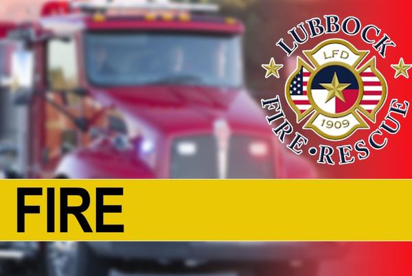 Picture for 1 dead, went back into a house fire to rescue a dog in Central Lubbock, LFR said