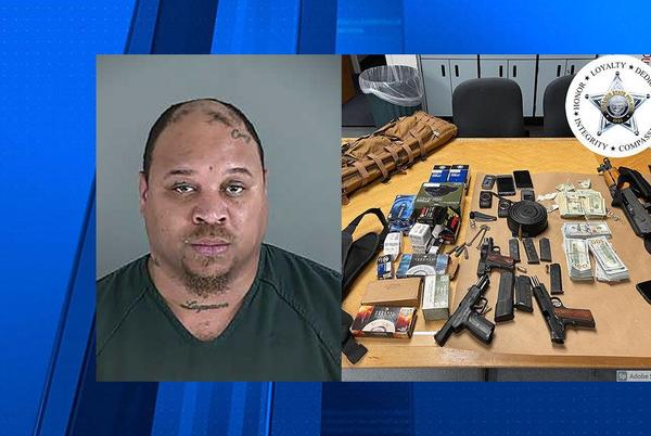 Picture for Gresham man arrested following road rage incident near Eugene; loaded weapons, ammo seized