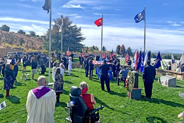 Picture for Governor Delivers Eulogy At Funeral For Forgotten Heroes