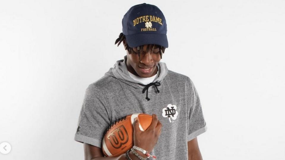Picture for Class Impact: WR Tobias Merriweather Commits To Notre Dame