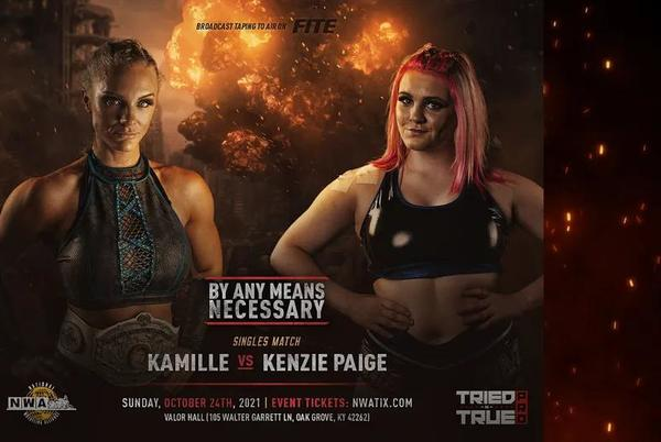 """Picture for NWA Women's Title Match Announced For NWA """"By Any Means Necessary"""" PPV"""
